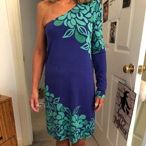 Lilly Pulitzer One Shoulder Dress- LAST CHANCE